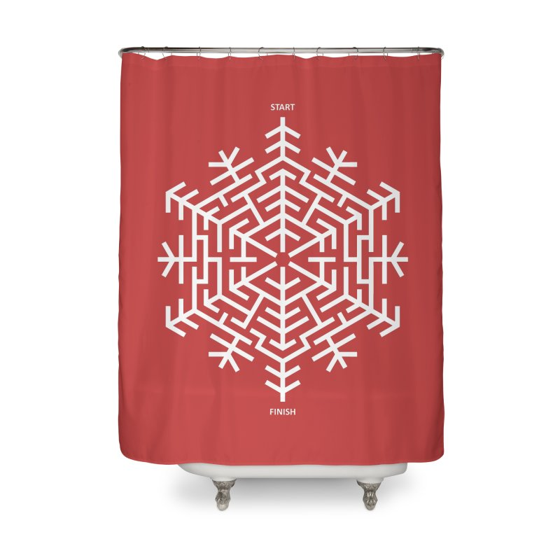 An Amazing Christmas Home Shower Curtain by thepapercrane's shop