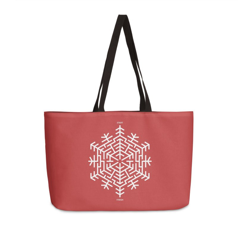 An Amazing Christmas Accessories Weekender Bag Bag by thepapercrane's shop