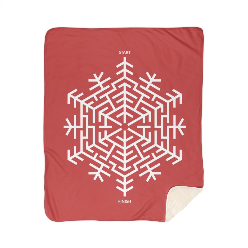 An Amazing Christmas Home Sherpa Blanket Blanket by thepapercrane's shop