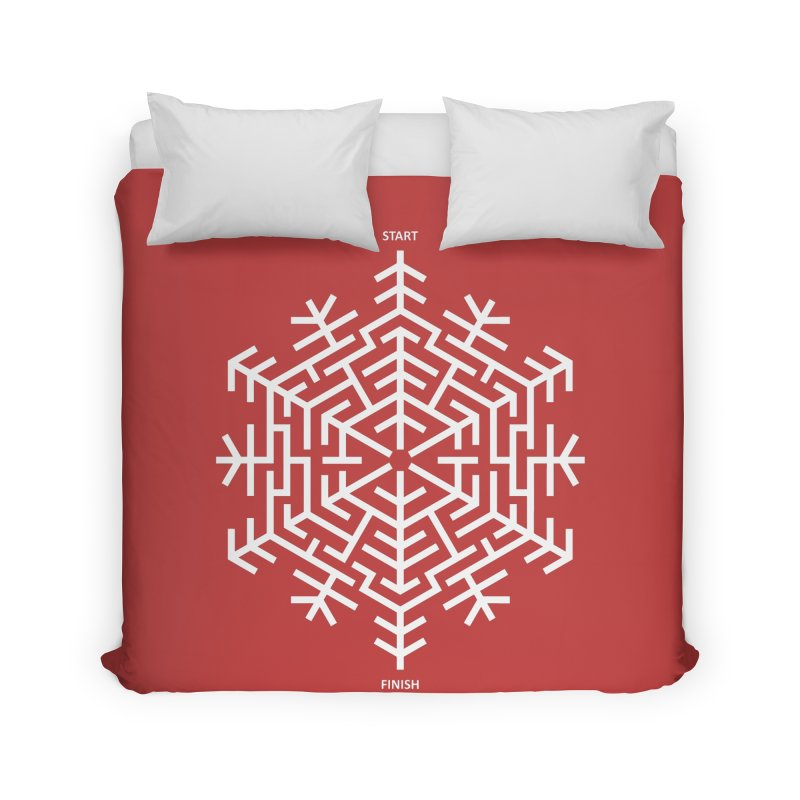 An Amazing Christmas Home Duvet by thepapercrane's shop