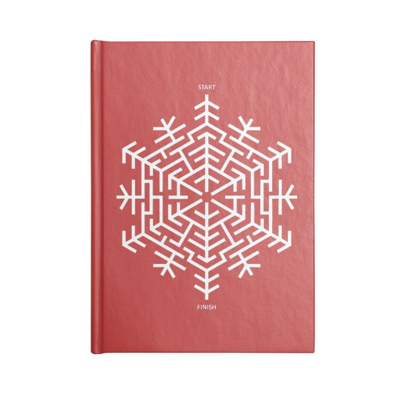 An Amazing Christmas Accessories Lined Journal Notebook by thepapercrane's shop