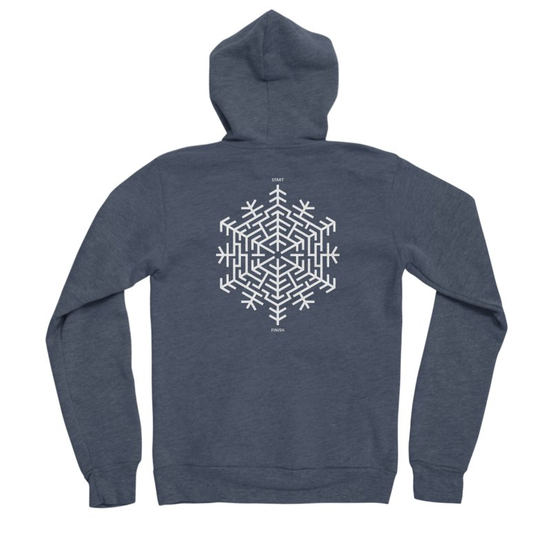 An Amazing Christmas Men's Sponge Fleece Zip-Up Hoody by thepapercrane's shop