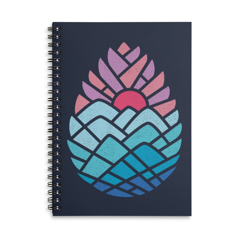 Alpine Accessories Lined Spiral Notebook by thepapercrane's shop