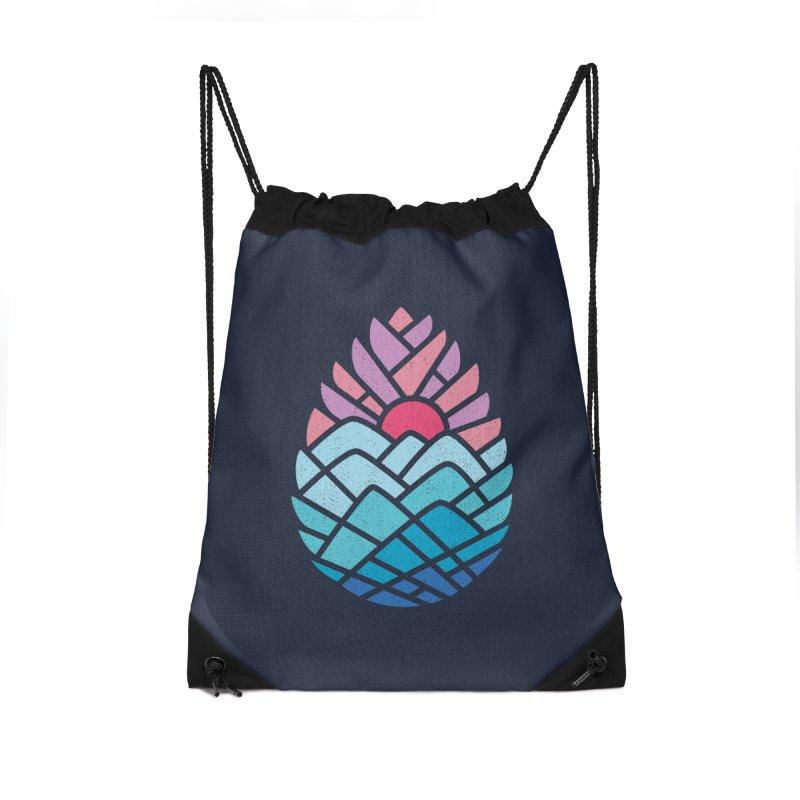 Alpine Accessories Drawstring Bag Bag by thepapercrane's shop