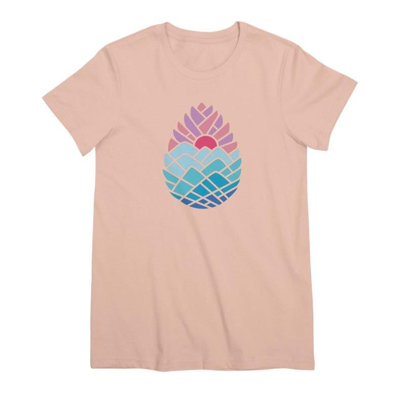 Alpine Women's Premium T-Shirt by thepapercrane's shop