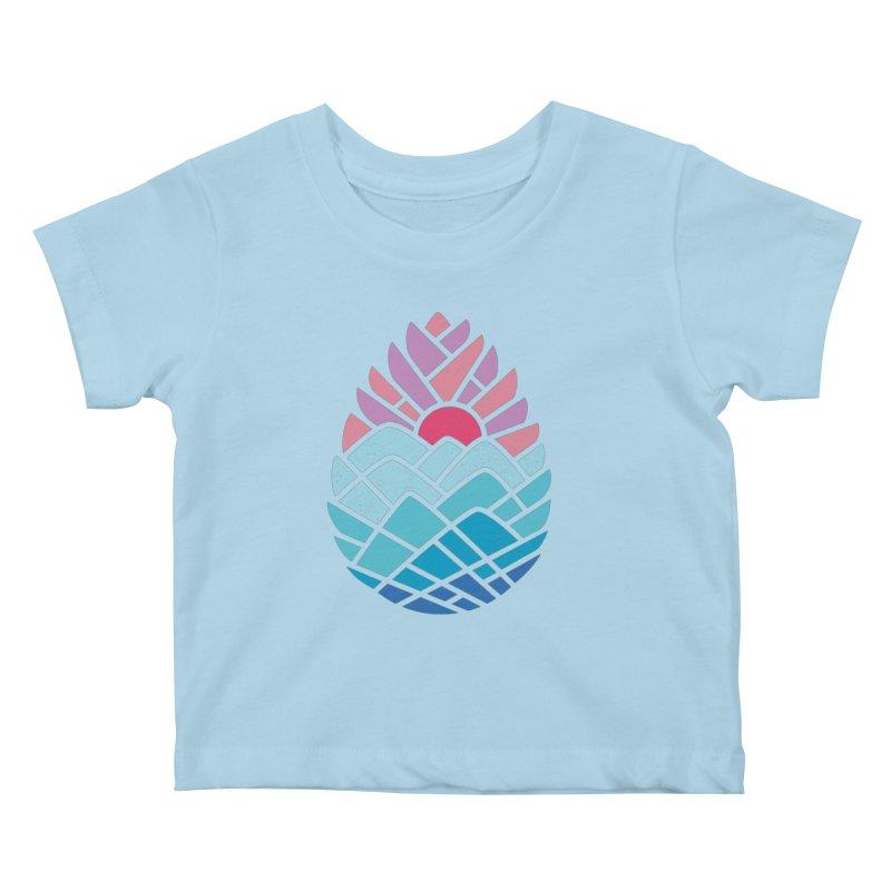 Alpine Kids Baby T-Shirt by thepapercrane's shop