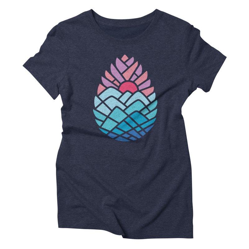 Alpine Women's Triblend T-Shirt by thepapercrane's shop