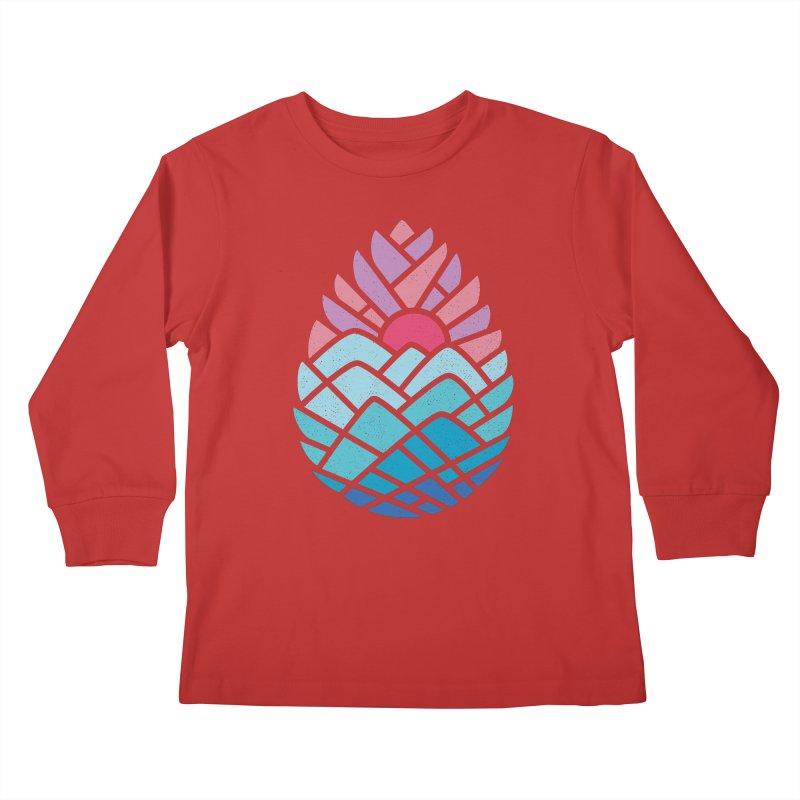 Alpine Kids Longsleeve T-Shirt by thepapercrane's shop