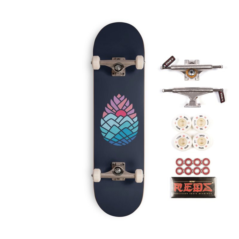 Alpine Accessories Complete - Pro Skateboard by thepapercrane's shop