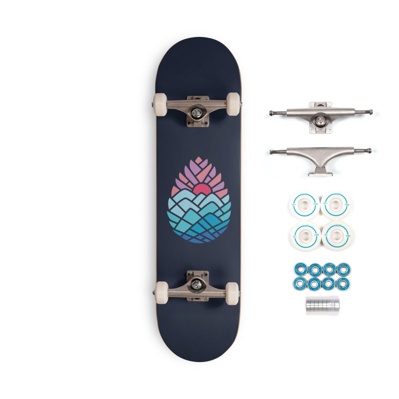 Alpine Accessories Complete - Basic Skateboard by thepapercrane's shop