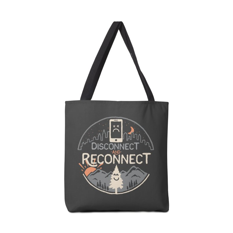 Reconnect Accessories Tote Bag Bag by thepapercrane's shop