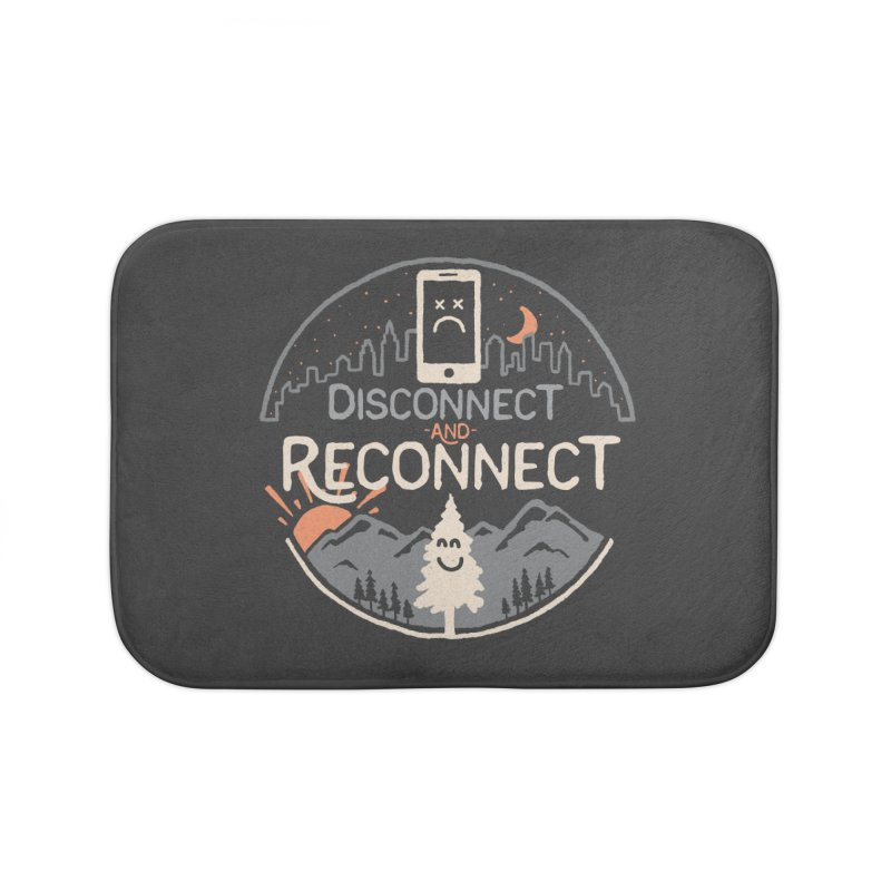 Reconnect Home Bath Mat by thepapercrane's shop