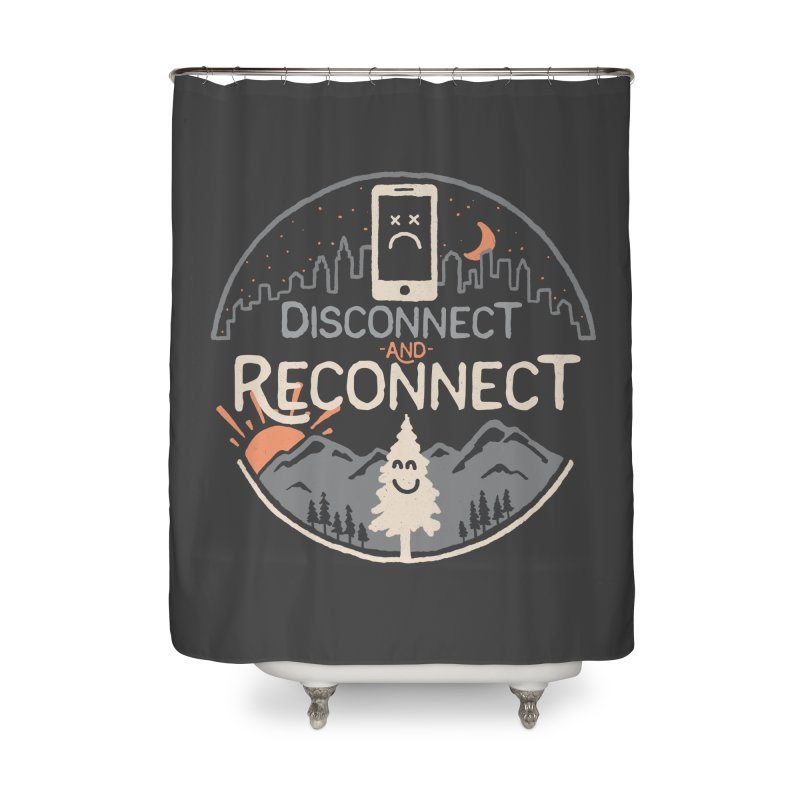 Reconnect Home Shower Curtain by thepapercrane's shop