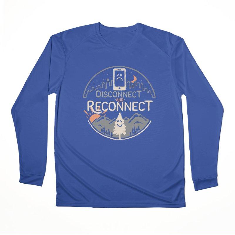 Reconnect Men's Performance Longsleeve T-Shirt by thepapercrane's shop