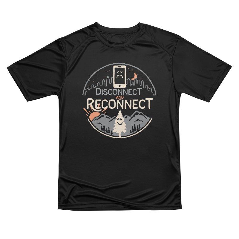 Reconnect Men's Performance T-Shirt by thepapercrane's shop