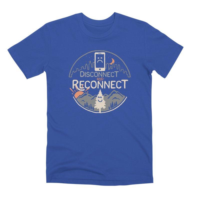 Reconnect Men's Premium T-Shirt by thepapercrane's shop