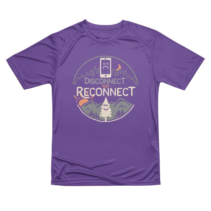 Reconnect Women's Performance Unisex T-Shirt by thepapercrane's shop