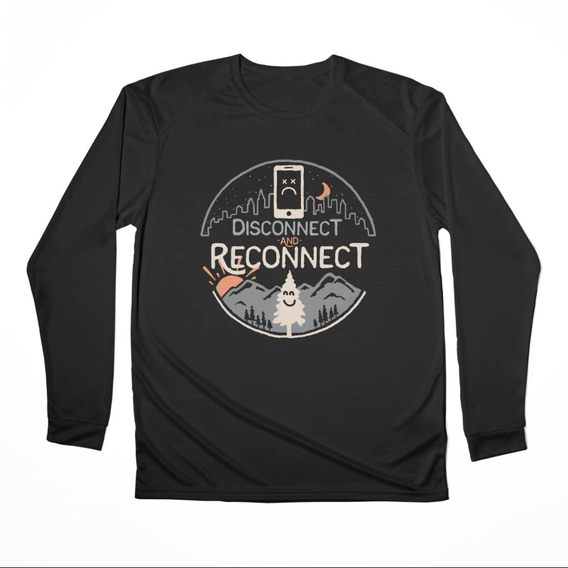 Reconnect Men's Performance Longsleeve T-Shirt by thepapercrane's shop