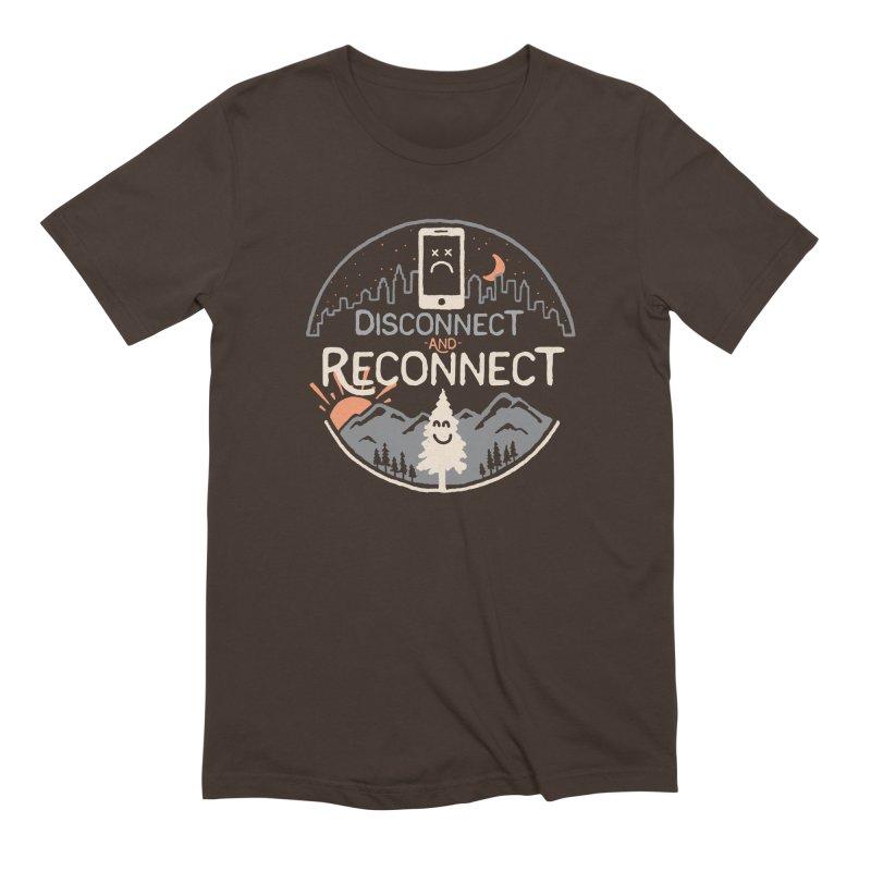 Reconnect Men's Extra Soft T-Shirt by thepapercrane's shop