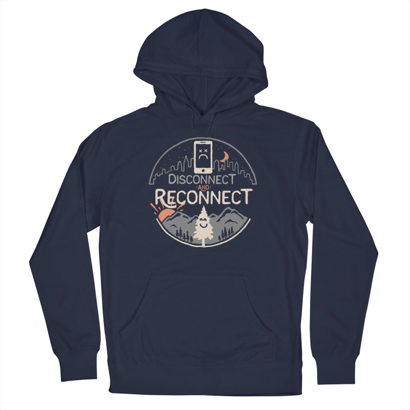 Reconnect Women's French Terry Pullover Hoody by thepapercrane's shop