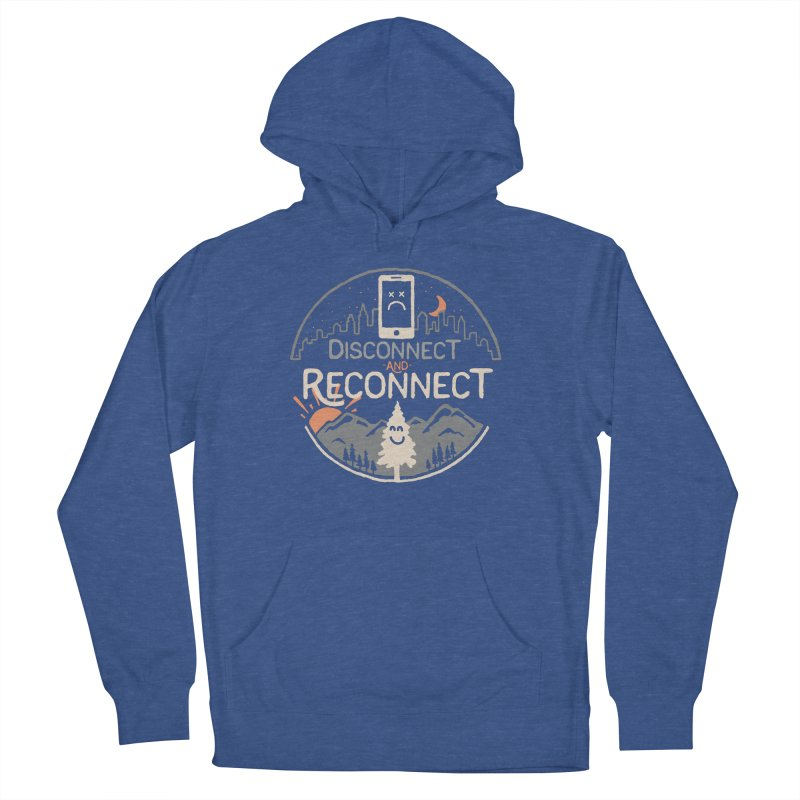 Reconnect Men's French Terry Pullover Hoody by thepapercrane's shop