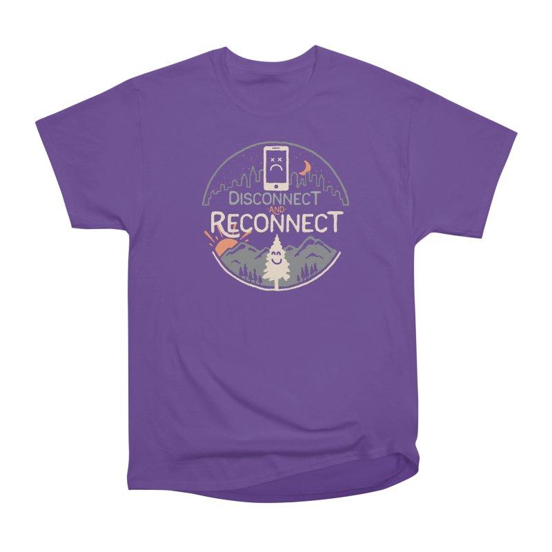 Reconnect Women's Heavyweight Unisex T-Shirt by thepapercrane's shop