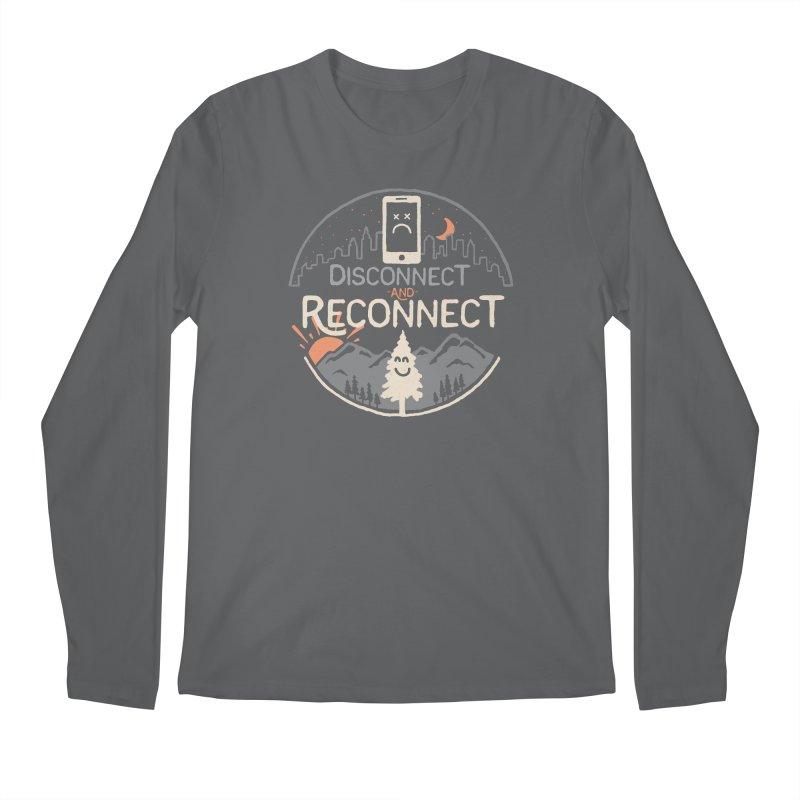 Reconnect Men's Regular Longsleeve T-Shirt by thepapercrane's shop