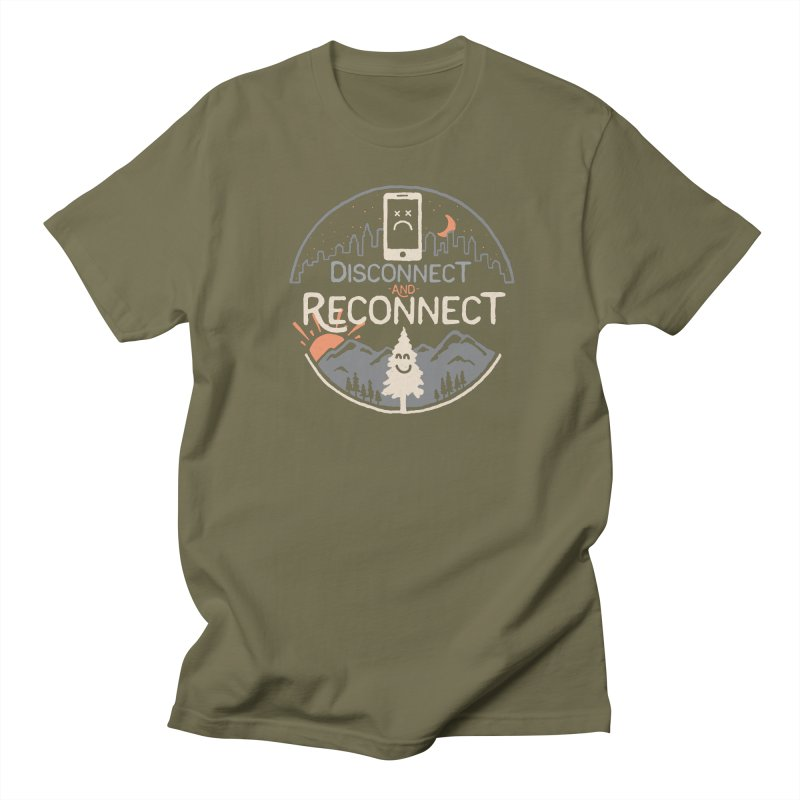 Reconnect Men's Regular T-Shirt by thepapercrane's shop