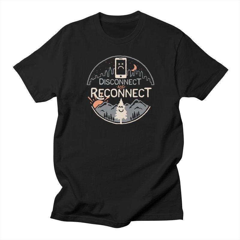 Reconnect Men's Regular T-Shirt by thepapercrane's shop