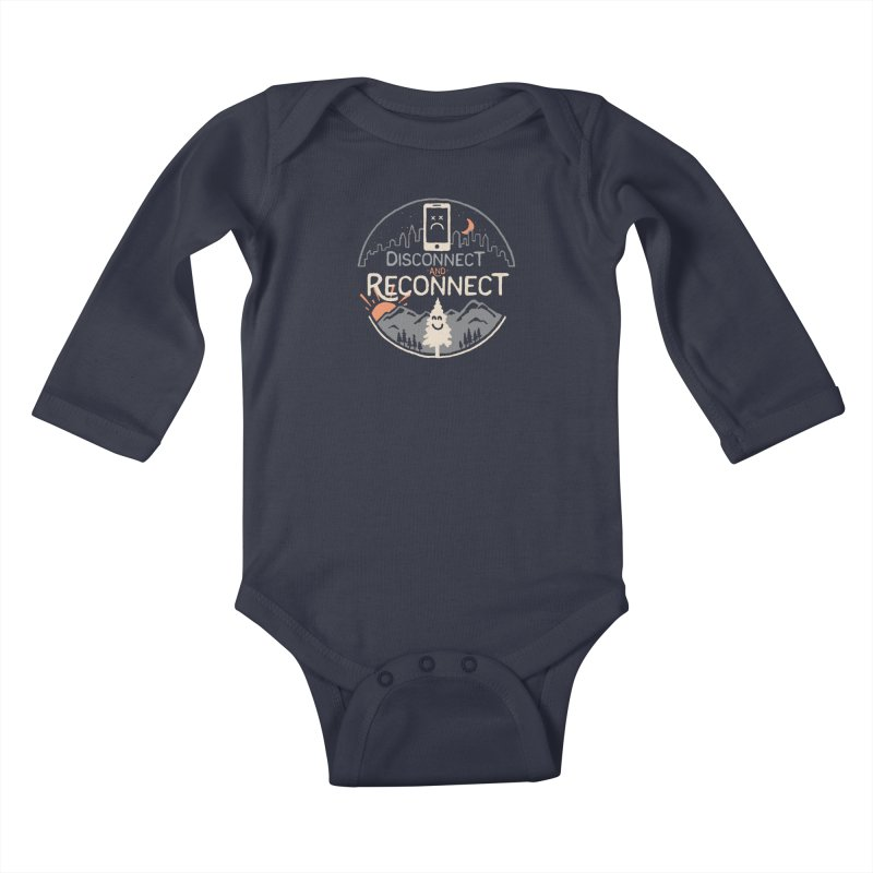Reconnect Kids Baby Longsleeve Bodysuit by thepapercrane's shop