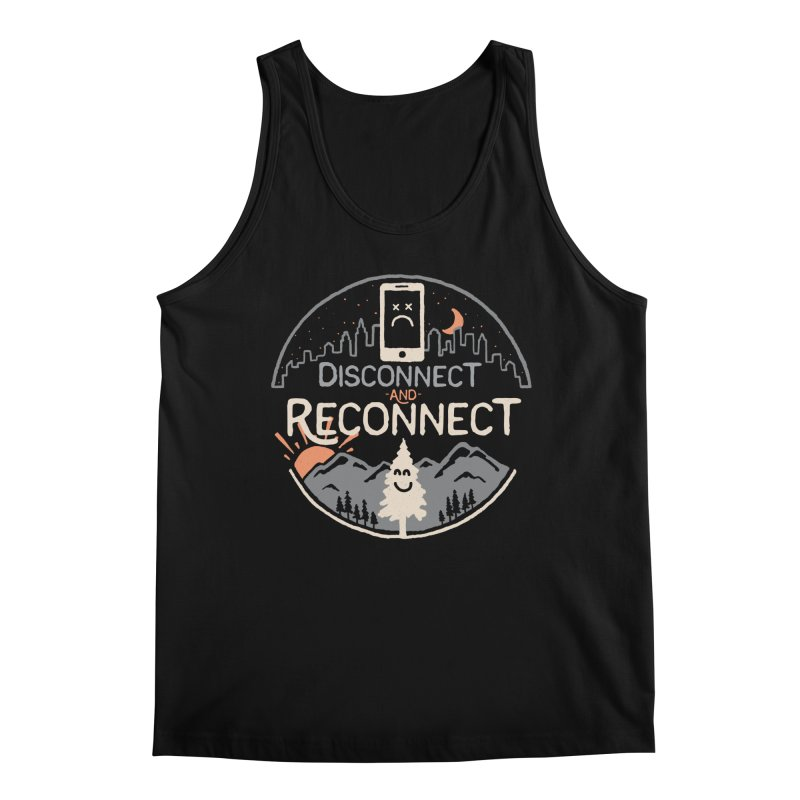 Reconnect Men's Regular Tank by thepapercrane's shop