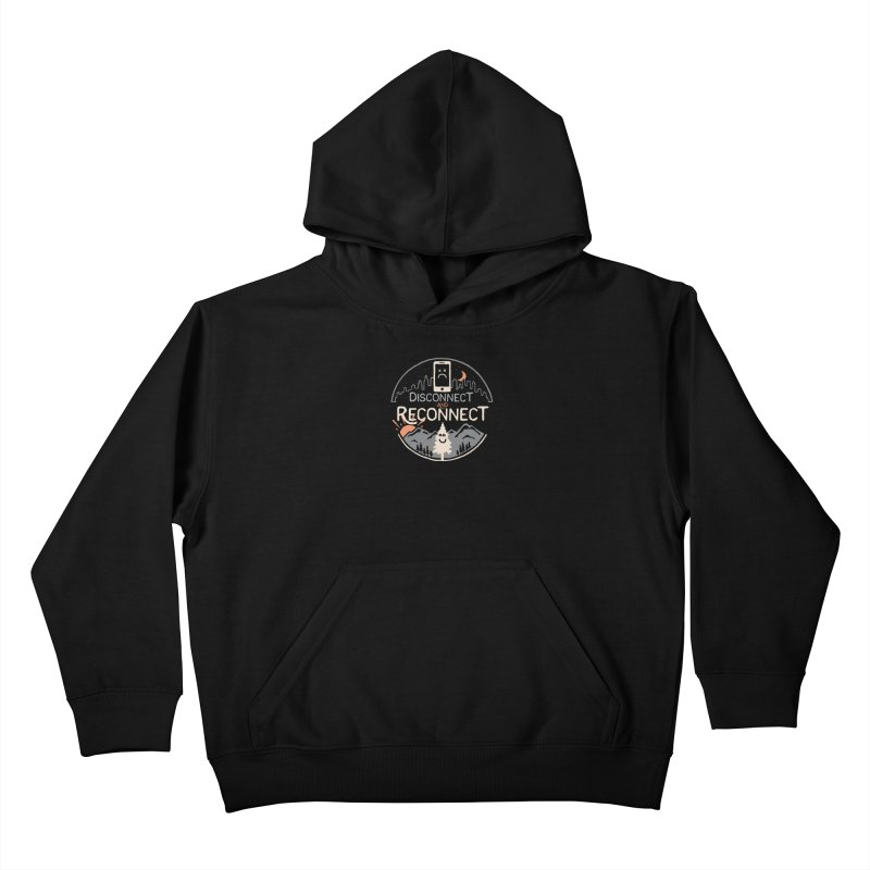 Reconnect Kids Pullover Hoody by thepapercrane's shop