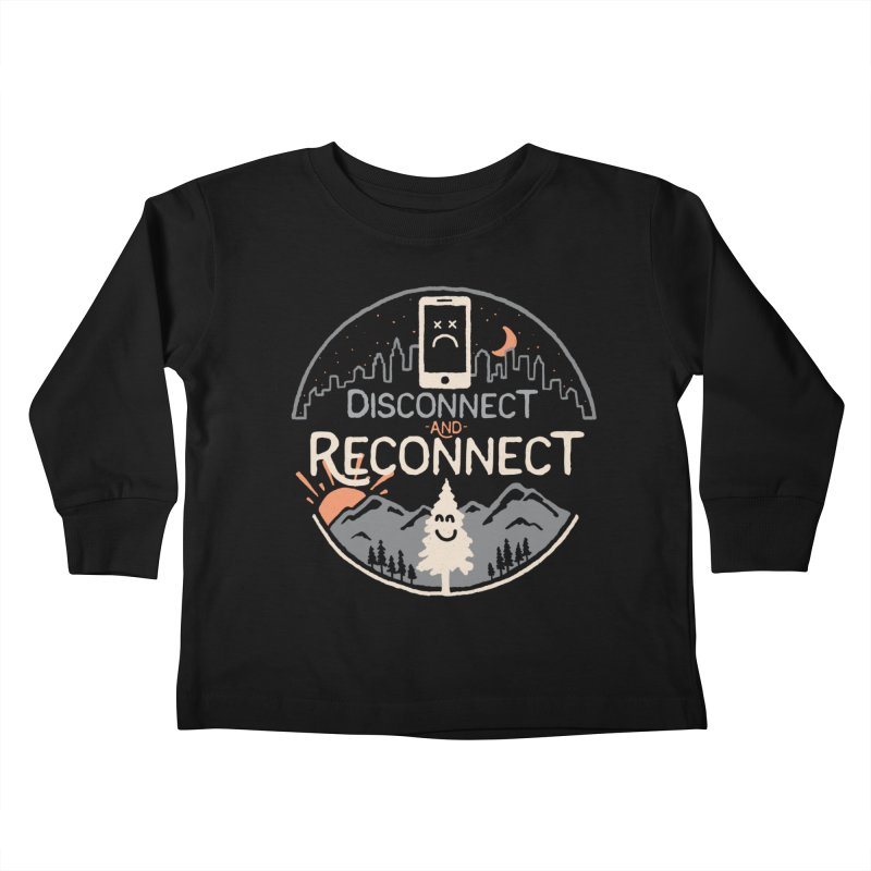 Reconnect Kids Toddler Longsleeve T-Shirt by thepapercrane's shop