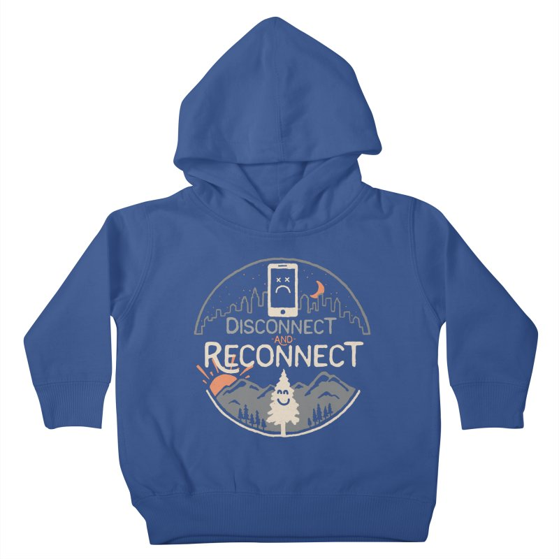 Reconnect Kids Toddler Pullover Hoody by thepapercrane's shop