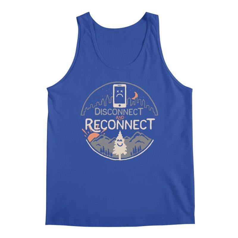 Reconnect Men's Regular Tank by thepapercrane's shop