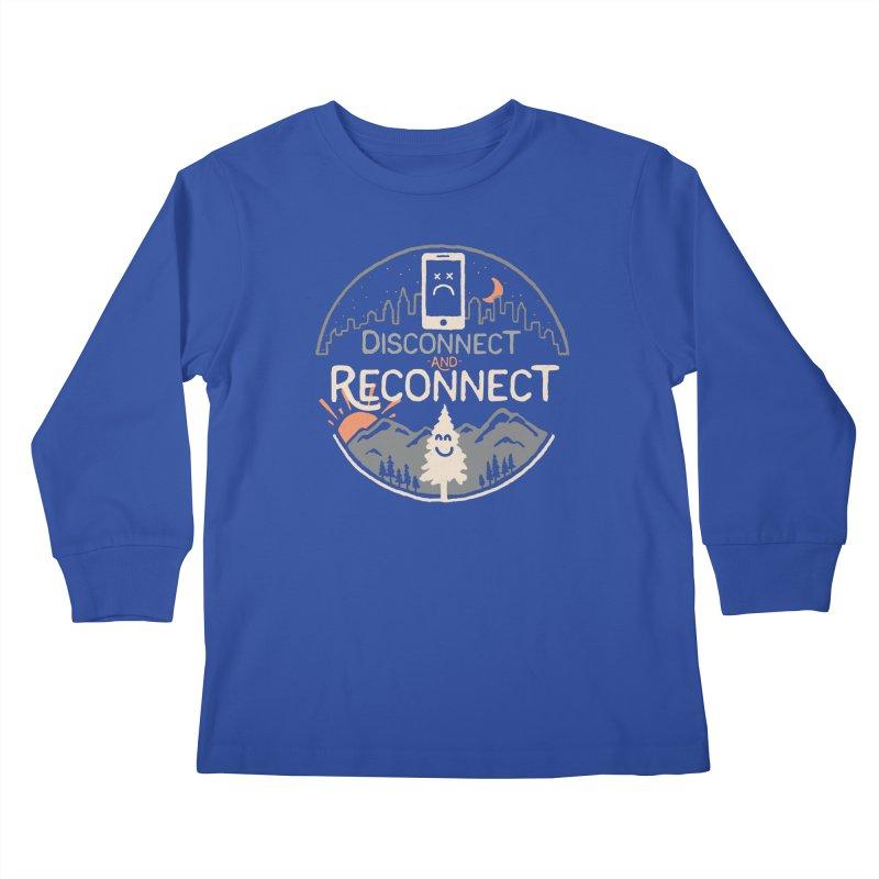 Reconnect Kids Longsleeve T-Shirt by thepapercrane's shop