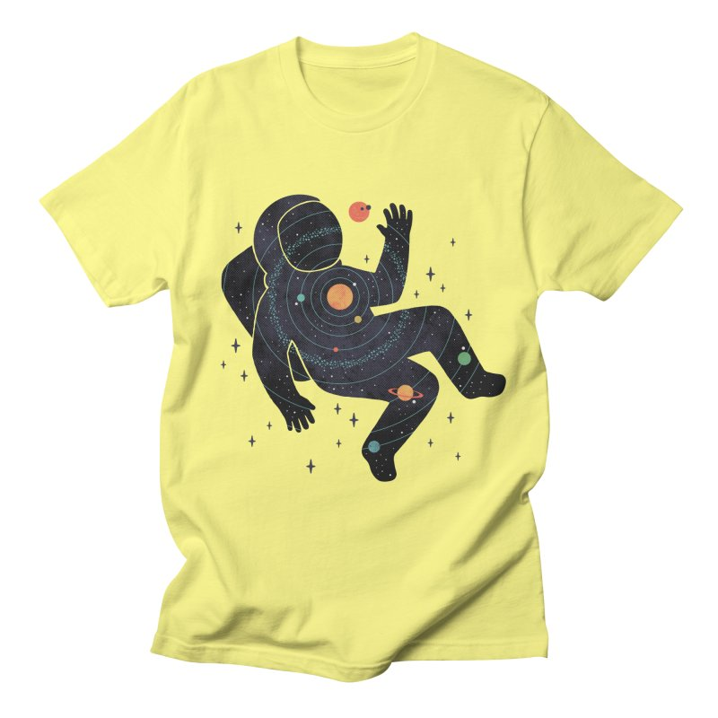 Inner Space Men's T-Shirt by thepapercrane's shop