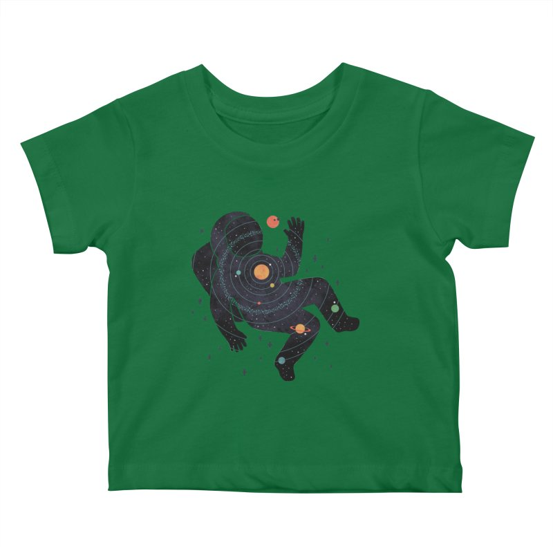 Inner Space Kids Baby T-Shirt by thepapercrane's shop