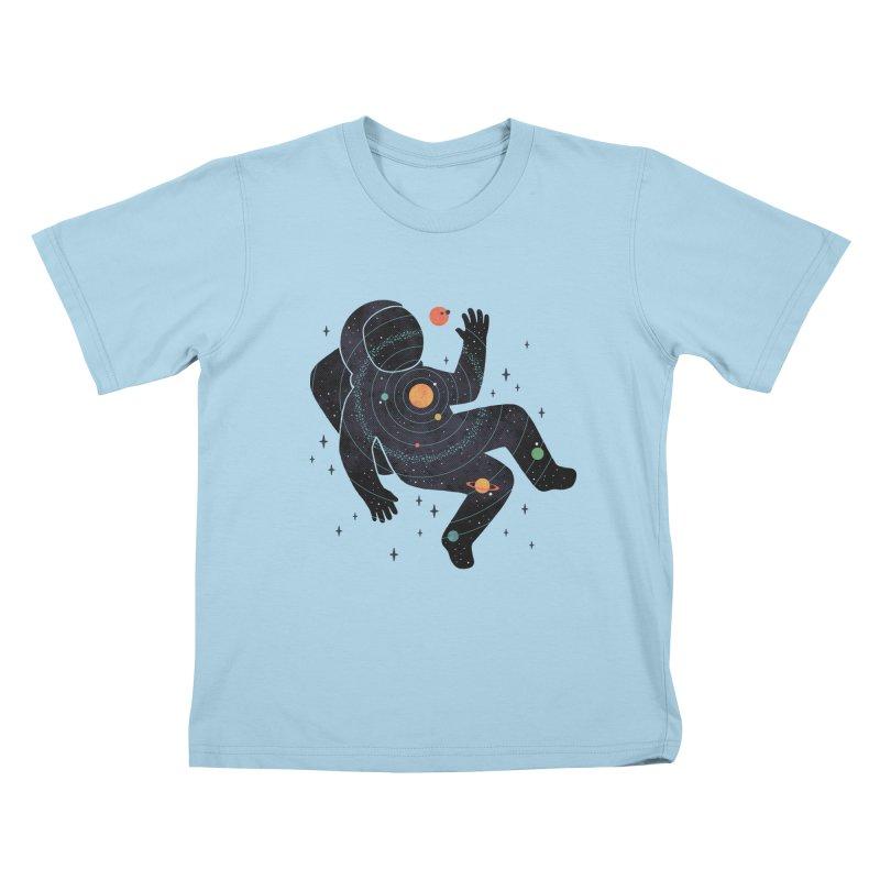 Inner Space Kids T-Shirt by thepapercrane's shop