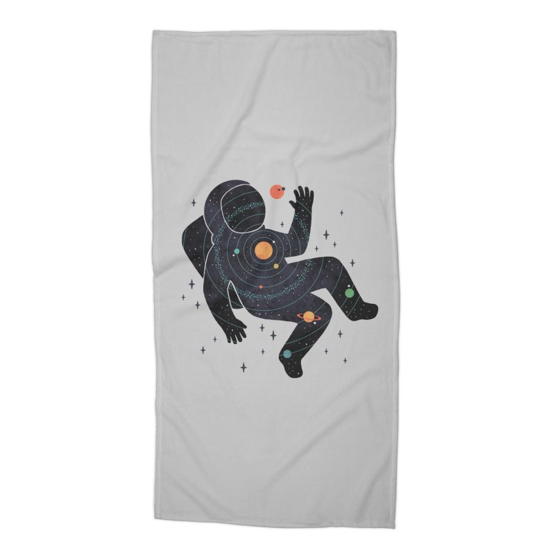 Inner Space Accessories Beach Towel by thepapercrane's shop