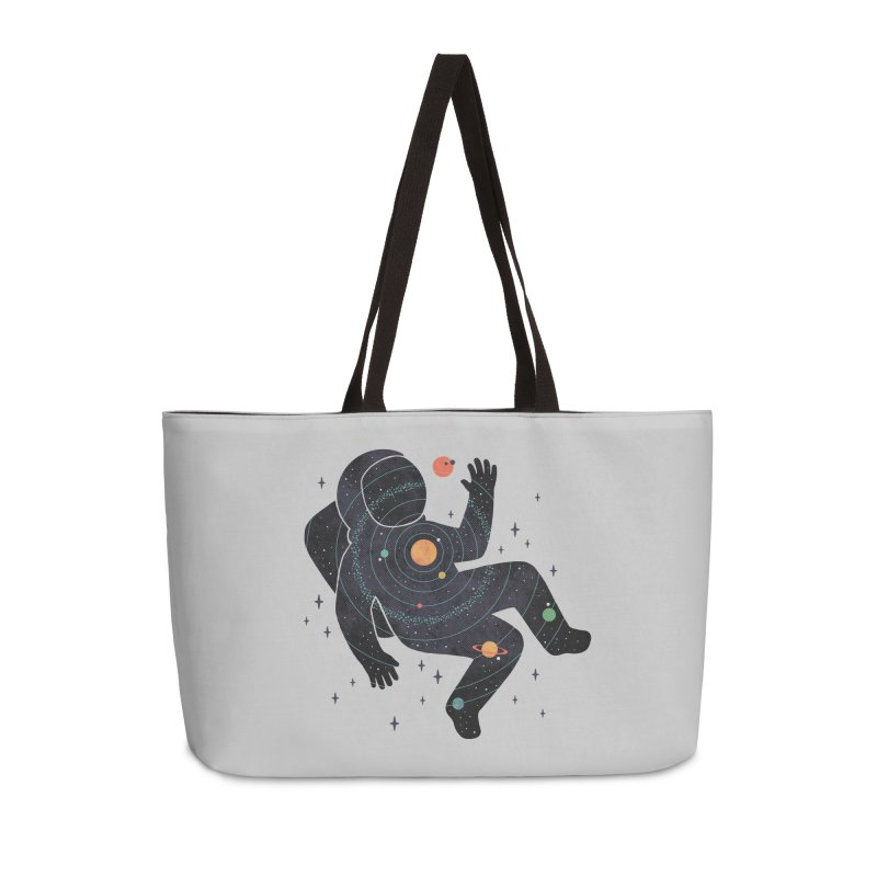 Inner Space Accessories Bag by thepapercrane's shop