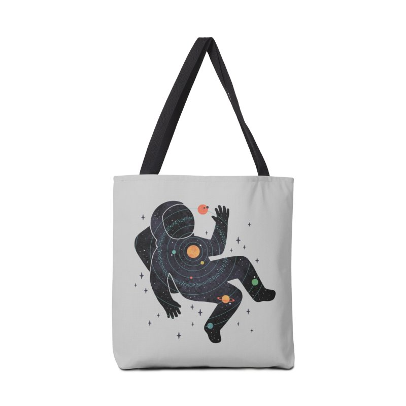 Inner Space Accessories Tote Bag Bag by thepapercrane's shop