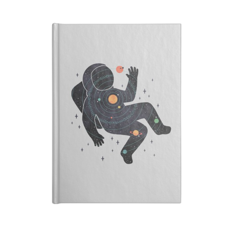 Inner Space Accessories Blank Journal Notebook by thepapercrane's shop