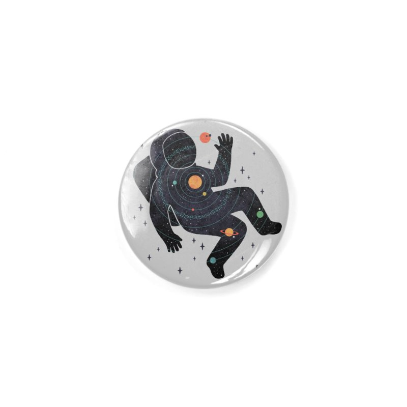 Inner Space Accessories Button by thepapercrane's shop