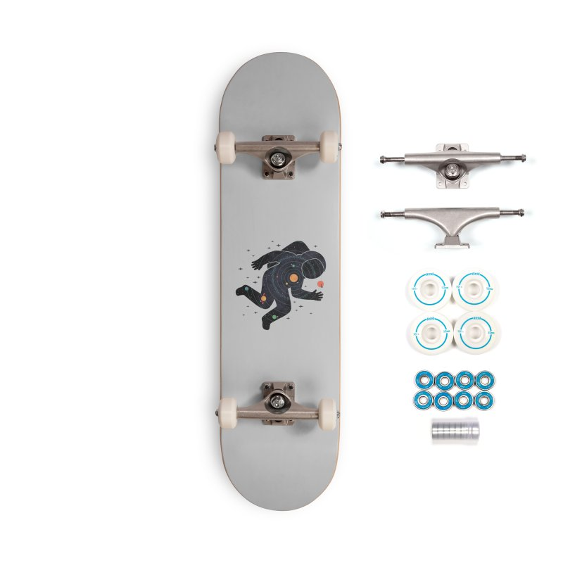 Inner Space Accessories Complete - Basic Skateboard by thepapercrane's shop