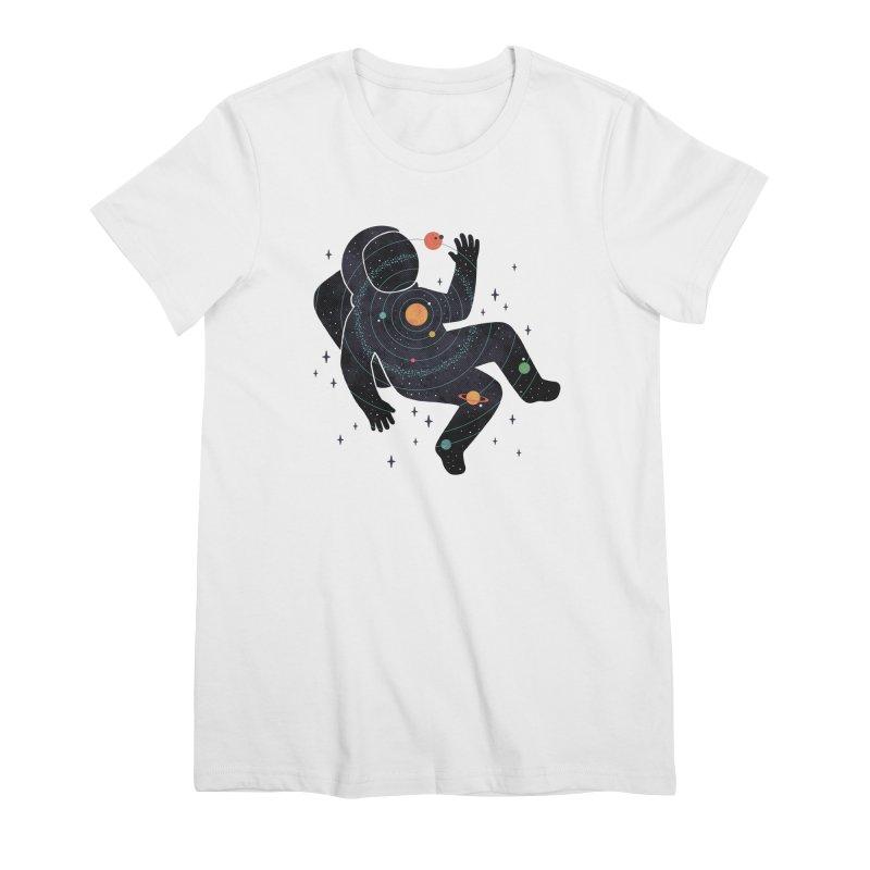 Inner Space Women's Premium T-Shirt by thepapercrane's shop