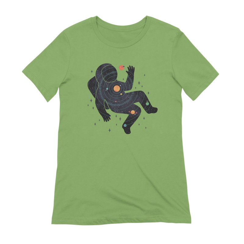Inner Space Women's Extra Soft T-Shirt by thepapercrane's shop