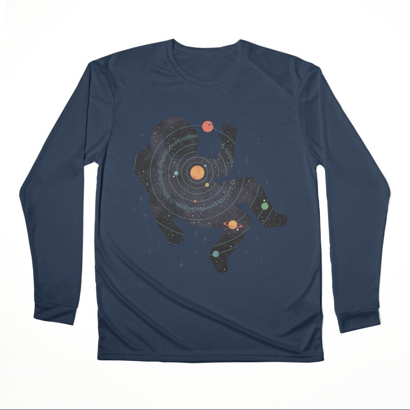 Inner Space Men's Performance Longsleeve T-Shirt by thepapercrane's shop
