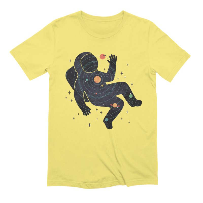 Inner Space Men's Extra Soft T-Shirt by thepapercrane's shop