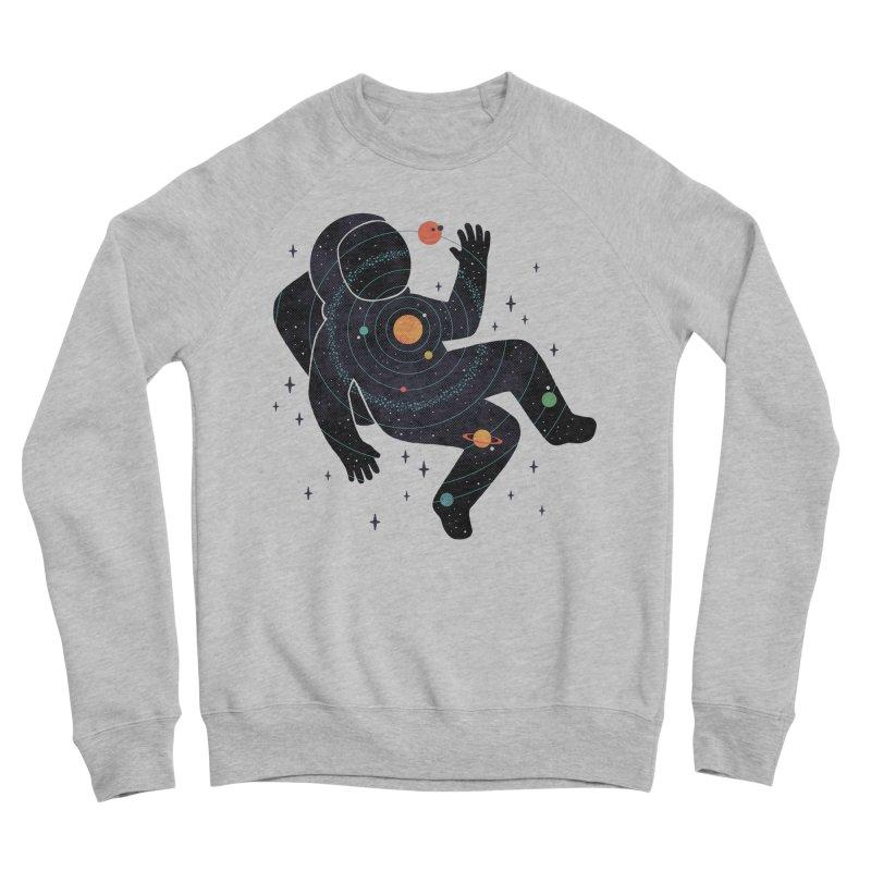 Inner Space Women's Sponge Fleece Sweatshirt by thepapercrane's shop
